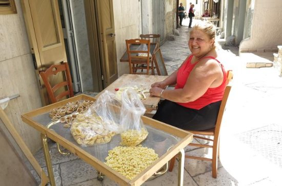 Privat Bari Walking Tour med Pasta...