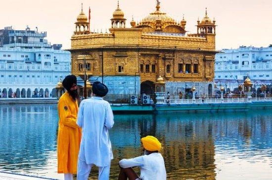 3 dager Taj Mahal Agra med Golden...