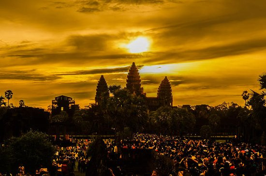Angkor Delightful Sunrise