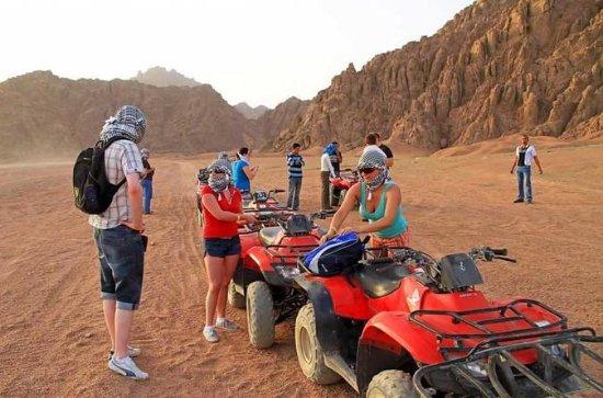 Hurghada-Wüstensafari mit 4x4-Jeep