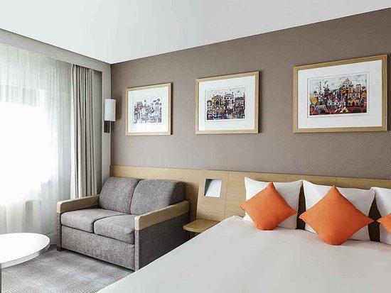 Novotel Amsterdam City: Guest room