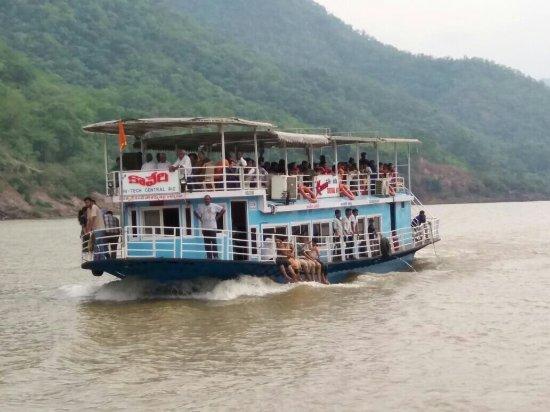 Rajahmundry, India: Papikondalu boat