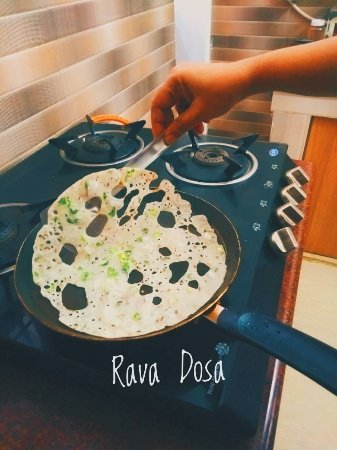 flavour cooking class rava dosa