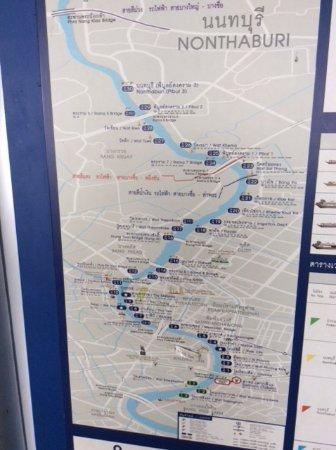 Map Chao Phraya Express Boat Picture of Sampeng Market Bangkok