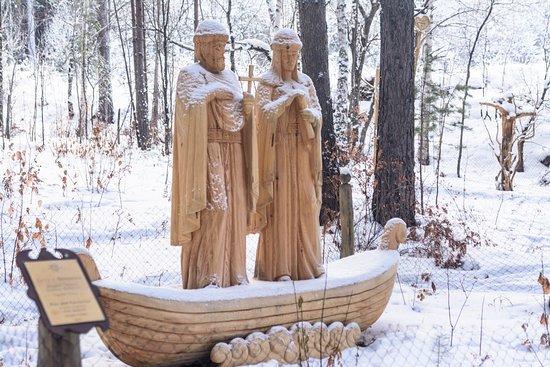 Park Lukomorye: Петр и Февронья