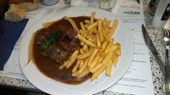 Crocodile restaurants petite for t - Buffalo grill petite foret ...