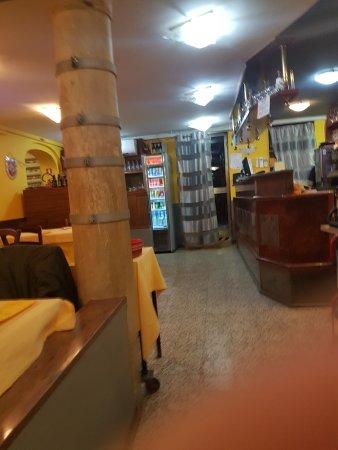 Pizzeria Trattoria all'Anfora : wygląd wnętrza