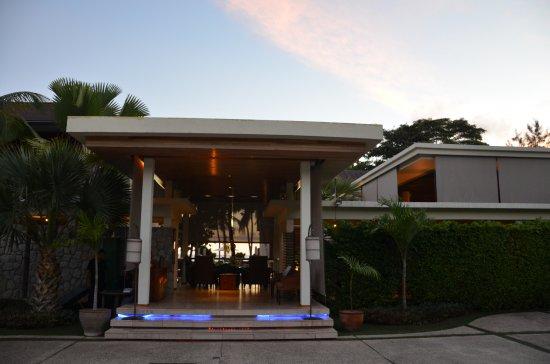 Grand Anse, Îles Seychelles : Réception de l'hôtel.