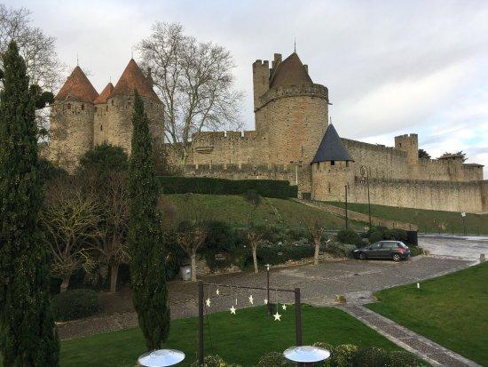 Hotel du Chateau : Vue de la chambre 12