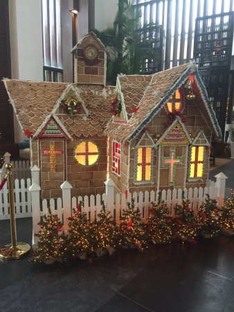 Life size gingerbread house for Christmas