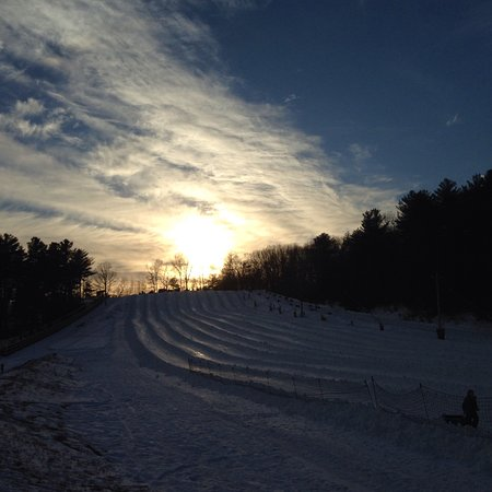 Nashoba Valley Ski Area: First time snow tubing. We had a great time.