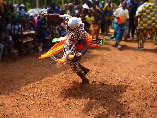Segou, Mali: Voodoo dance