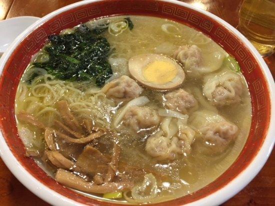 Koshuichiba: 塩広州雲吞麺