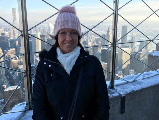Empire State Building: Top of the World !