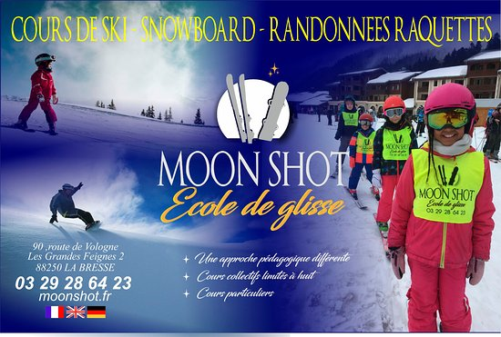 MoonShot, Ecole de Glisse.