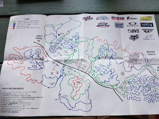 Union Point, GA: Trail map