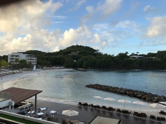 Cap Estate, Saint Lucia: view from our room