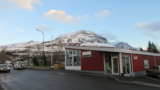 Reydarfjordur, Islandia: Brew with a View
