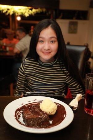 Newnham, UK: my daughter liked her sweet