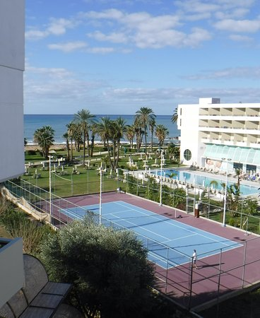 Constantinou Bros Athena Royal Beach Hotel: The view from room 2252