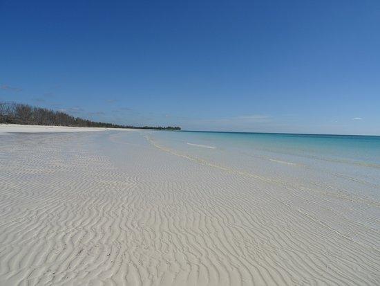 Gold Rock Beach: Bahamas welcome mat.