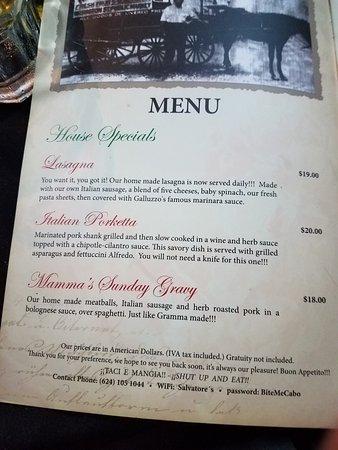 Picture Of Salvatore 39 S Italian Restaurant Cabo San Lucas Tripadvisor