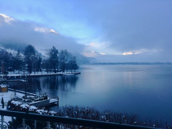 Grand Hotel Zell am See: View from balcony room 222