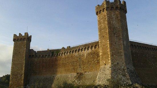 Palazzina Cesira: Il castello di Montalcino