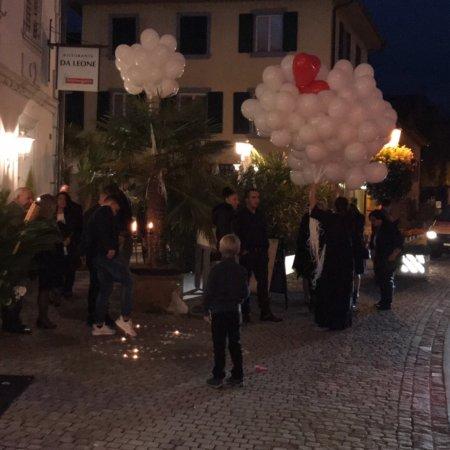 Diessenhofen, Suisse : Ristorante Da Leone