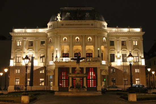 ‪The old Slovak National Theater‬