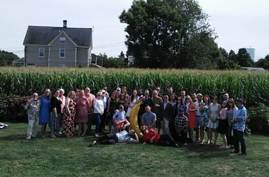 Escobar's Farmhouse Inn: Picture of the Group at the Rehearsal Luncheon