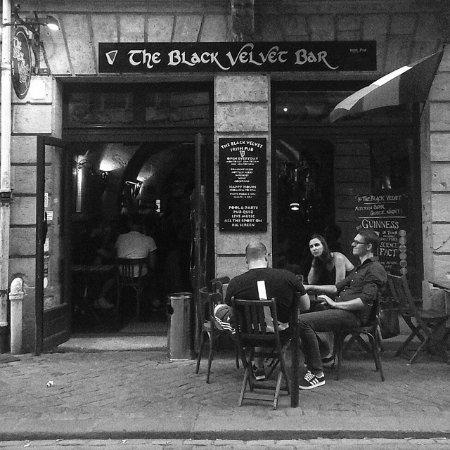Restaurant The Black Velvet Bar dans Bordeaux avec cuisine ...