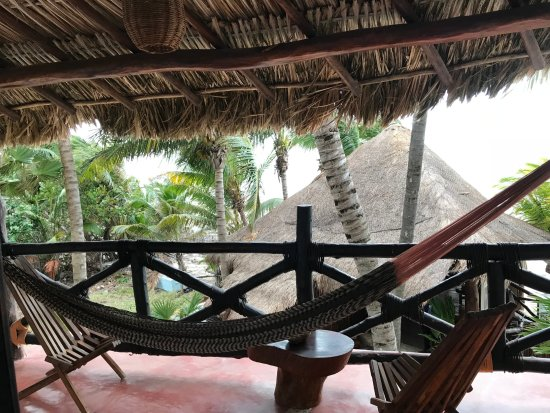 Beachfront Hotel La Palapa Adult Oriented: Room balcony and view