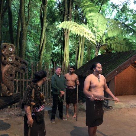 Maorilandsbyen Tamaki: photo3.jpg