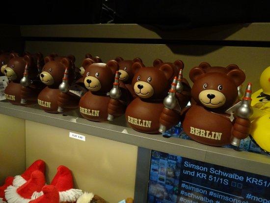 DDR Museum : souvenir shop
