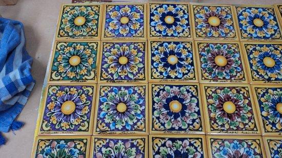 Pannelli assortiti 10 x 20 ceramiche artistiche liborio pameri