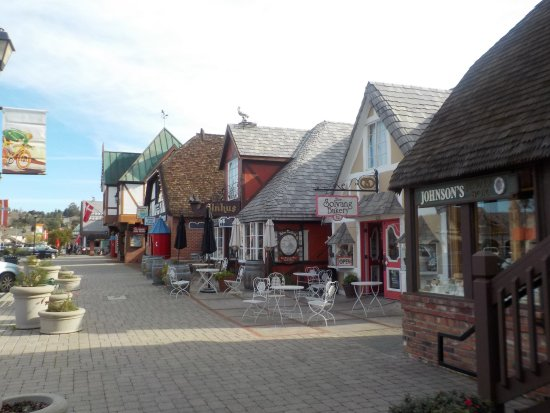 Solvang, CA: Красивая улица