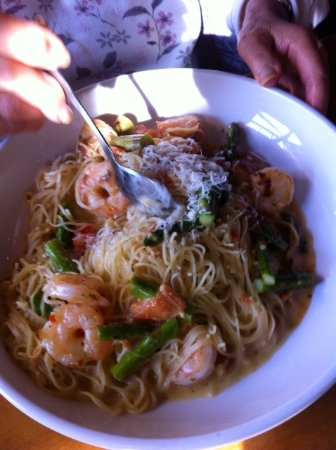 Pasta With Shrimp Scallops Picture Of Olive Garden Milpitas