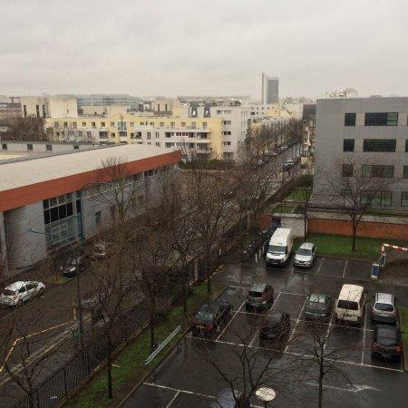 Gennevilliers, Frankrike: Vues depuis la chambre 502