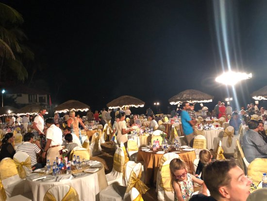 The Leela Raviz Kovalam: Gala Dinner New Year's Eve