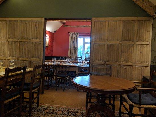 Kingham, UK: The Barn Dinning Room