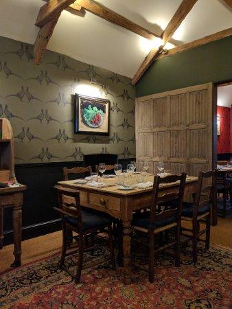 Kingham, UK: The Barn Dinning Room 2