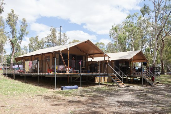 Deniliquin, Australië: Glamping Tent