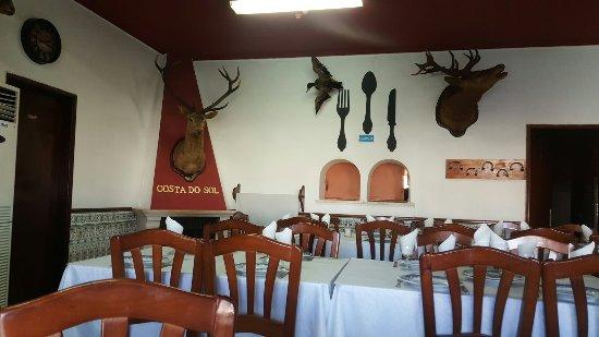 Alqueva, Portugal: Um bom restaurante