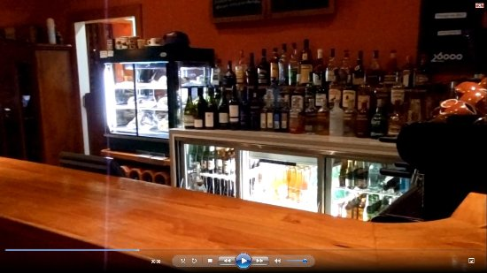 The Station Cafe and Restaurant: Seemingly Fully Stocked Bar :-)