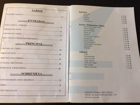 Portofino Motel: precios del Servicio de habitaciones