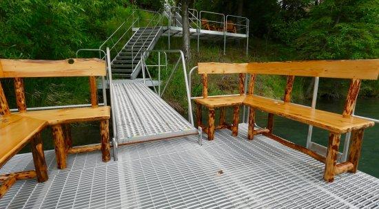 Balcony - Picture of Alaska Troutfitters Lodge, Cooper Landing - Tripadvisor