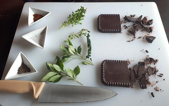 La Anita Rainforest Ranch: Chocolate tasting