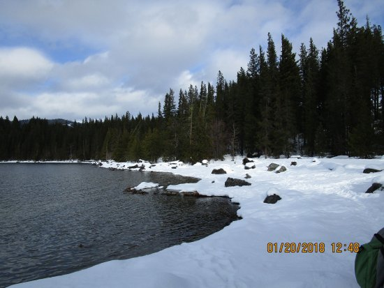 snow at the lake picture of wenatchee confluence state park rh tripadvisor com