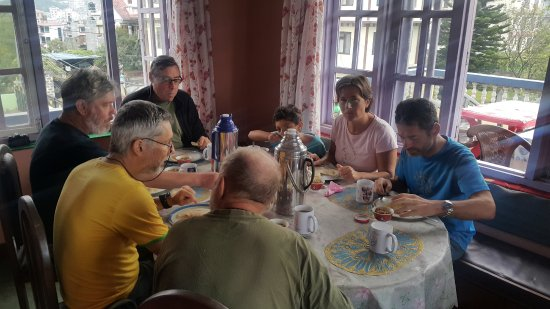 Having a Breakfast at Friendship Home stay